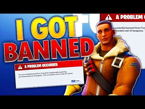 I Got Banned on Fortnite Save The World!