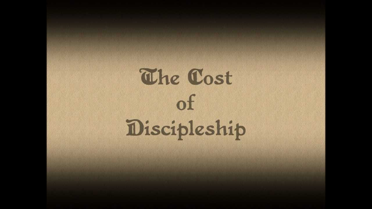the cost of discipleship bonhoeffer dietrich April 17, 2015 the cost of discipleship dietrich bonhoeffer and the church's prophetic voice s eventy years ago, on april 9, 1945, during the last weeks of world war ii, renowned lutheran.
