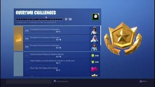 Overtime Challenges and Rewards! (Valentines Day Challenges) Fortnite