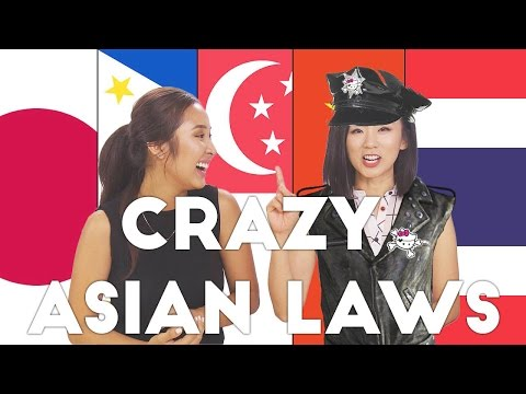 CRAZY WEIRD LAWS ONLY IN ASIA | OTGW