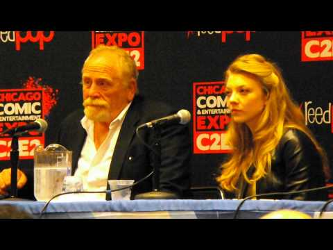 Game of Thrones panel at C2E2 2013 with James Cosmo and Natalie Dormer!