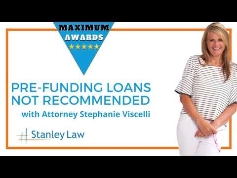 Stanley Law Offices: Pre-Funding Loans FAQ Video
