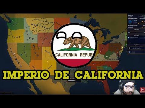 age-of-civilizations-ii-en-espaÑol---!!!-imperio-de-california---mapa-de-estados-de-estados-unidos