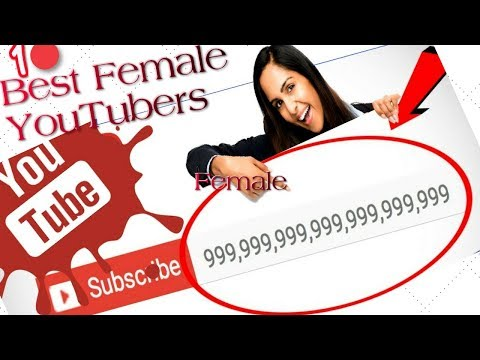 Girl YouTube names, Who is the YouTuber with the Most Subscribers? Top 10 best female YouTubers!