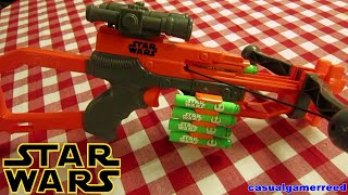 Reed Reviews Nerf Star Wars Episode Vii Chewbacca Bowcaster (unboxing)