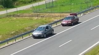 Holowanie na autostradzie A4 Rzeszow