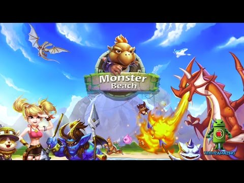 Monster Beach - Dragon Legends (iOS/Android) Gameplay HD
