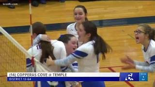 Temple Volleyball vs Cove - Autumn Dowell