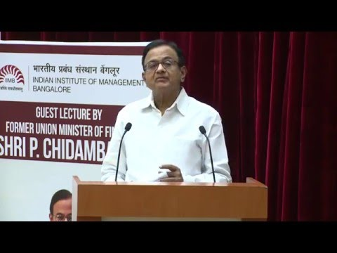 Keynote Address: Nexus 2016 by Shri P Chidambaram