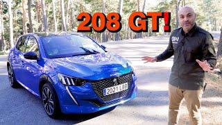 ME PONGO AL VOLANTE del NUEVO PEUGEOT 208 GT LINE 130 CV ¿El nuevo 205 GTI?