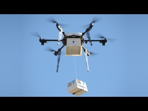 The FIRST EVER Food Drone Delivery System has been deployed in ICELAND