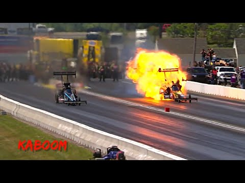 NHRA Crashes & Engine Explosions!