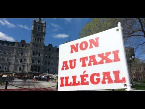 GRÈVE DES TAXIS MONTREAL - 08/01/2016-  RADIO CFMB 1080 AM