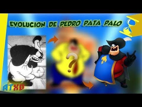 Evolución de Pedro/Pete Pata Palo (1925 - 2018) | ATXD ⏳
