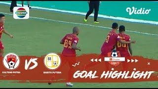 Kalteng Putra (1) vs (1) Barito Putera - Goals Highlights | Shopee Liga 1