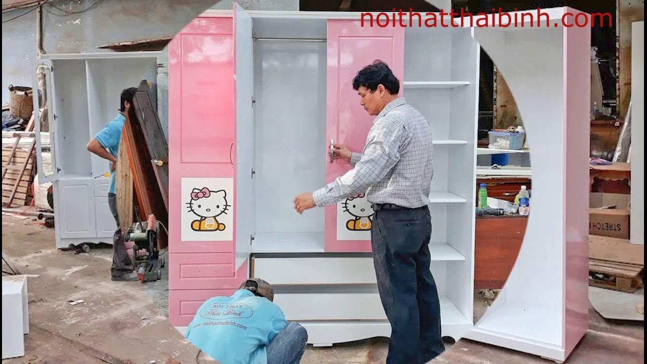 5 mẫu tủ quần áo đẹp tại TPHCM