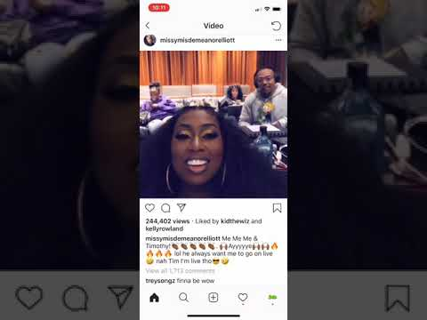 Missy Elliott & Timbaland Tease New Music Dropping In 2019 Mp3