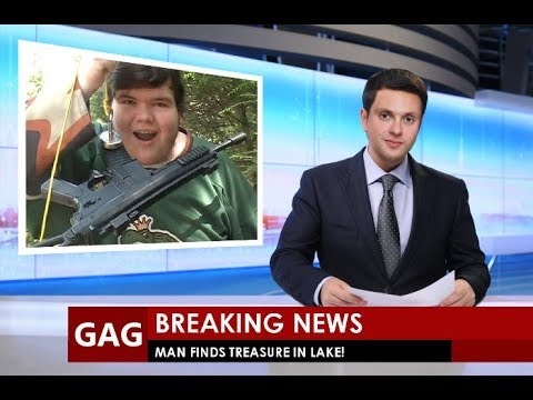 Magnet Fishing - Local Man Finds GUNS in River! ~ Garbage Gold #5