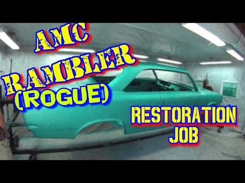 "AMC Rambler Rogue-""Off Frame Car Restoration""-Do It Yourself-Part 1"