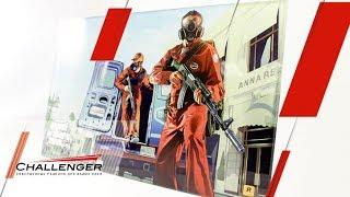 УФ-печать на стекле! Печатаем постер из GTA V на УФ-принтере Magellan 2030UVi