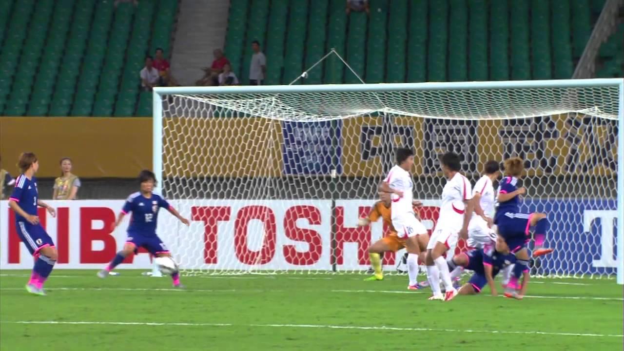 EAFF WOMEN'S EAST ASIAN CUP 2015 DPR KOREA vs JAPAN