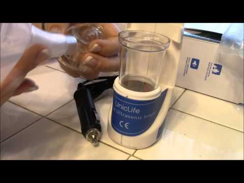How to use a Uniclife nebulizer inhaler