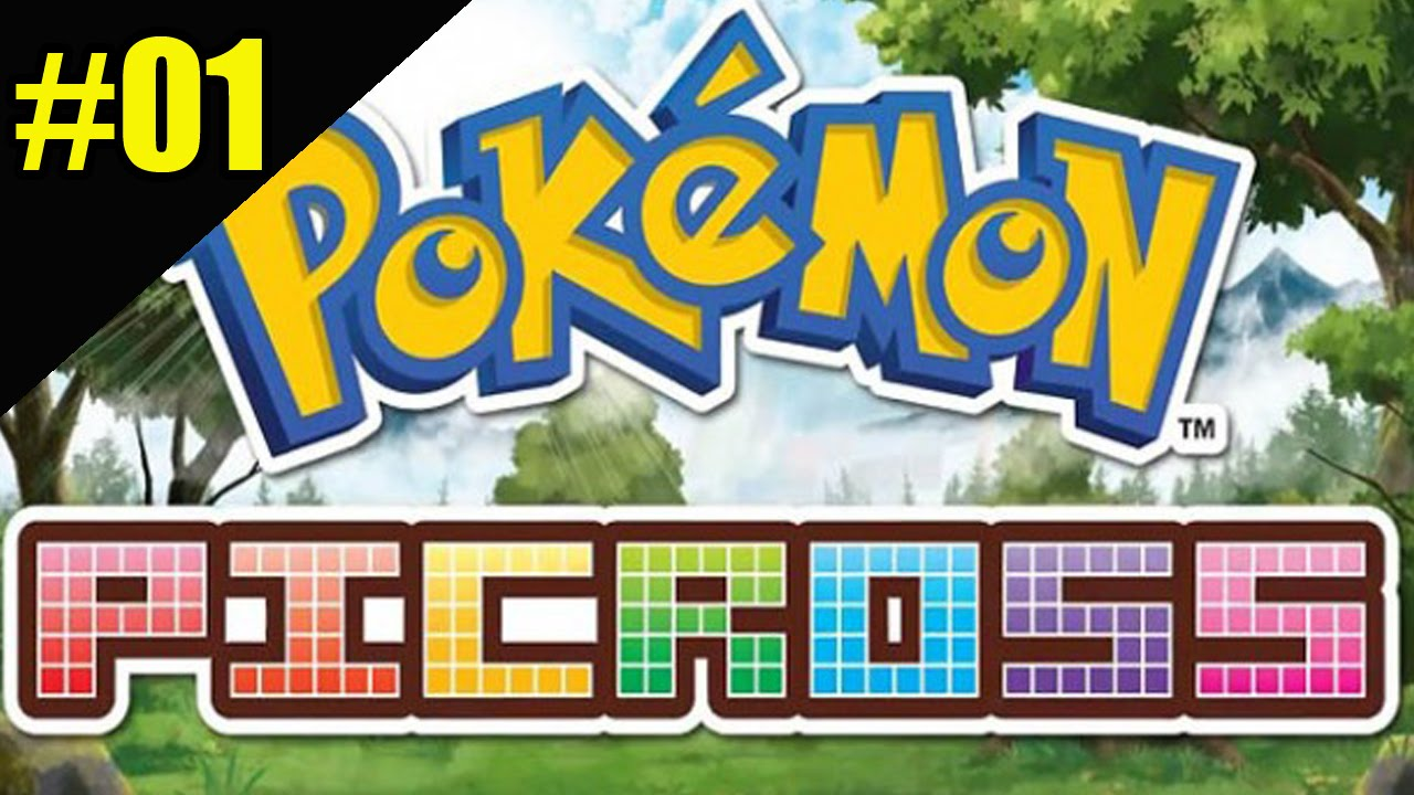 Pokemon picross 01 gameplay 3ds youtube for Mural 01 pokemon picross