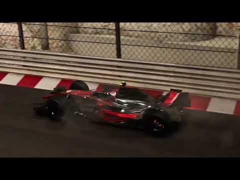 F1 2017 Night Monaco | 2008 McLaren | PS4 E32