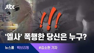 [백브리핑] 형체도 없이 사라진 눈사람 '엘사'…밤 사이 무슨 일이 / JTBC 뉴스룸