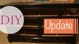 Diy Project: Dresser In Progress #2: Update #1