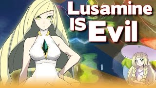 LUSAMINE IS LYING - Pokemon Sun&Moon Aether Foundation Theory