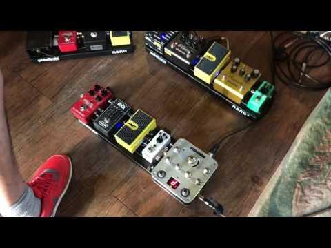Fishman AURA Spectrum D.I 기반 Acoustic Pedalboard Test/원미사운드