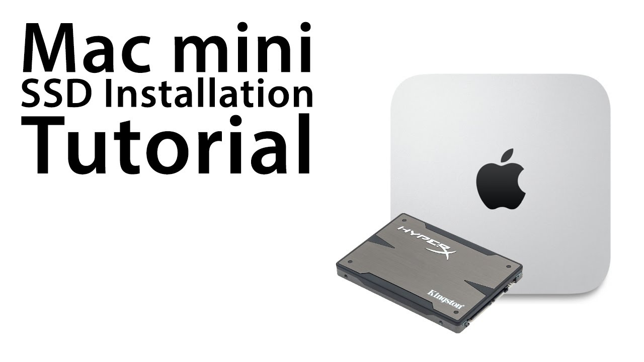 the ultimate mac mini how to install a solid state drive ssd rh youtube com Mac Mini Computer Mac Mini Keyboard