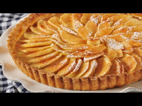 French Apple Tart Recipe Demonstration - Joyofbaking.com