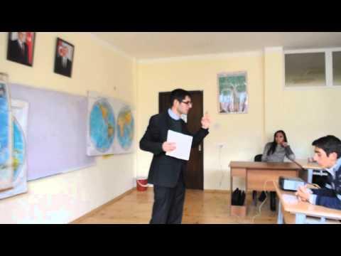 "Azerbaijan. School journalism. Trainer/consultant Elchin Sardarov. ""GreenPen"" PR school, school N 86"