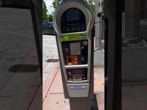 Estacionamiento En MIAMI Beach 1dollar Por Hora Buenísimo