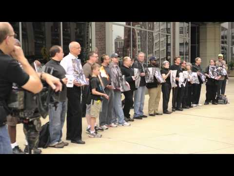 Sun-Times Photographers Silent Protest