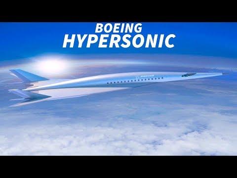 BOEING Unveil HYPERSONIC JET Concept