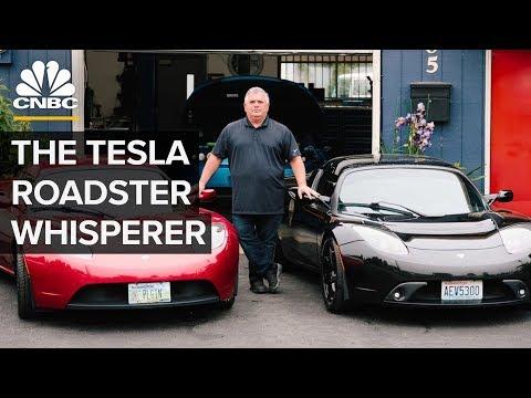 This Former Tesla Employee Fixes Tesla Roadsters