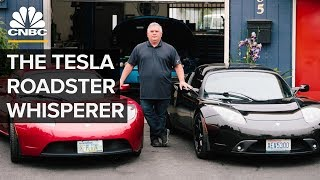 This Former Tesla Employee Fixes Tesla Roadsters