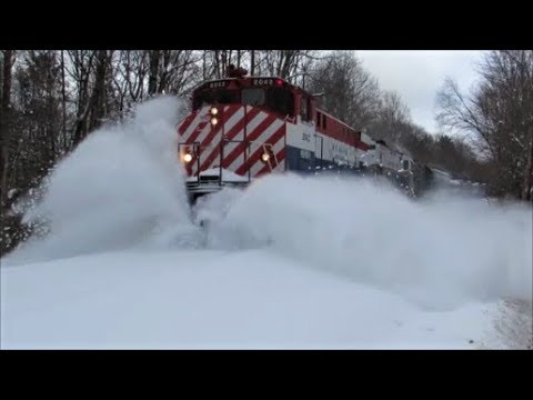 """""""Let The Snow Fly!!!"""" MA&N Utica, NY Branch"""