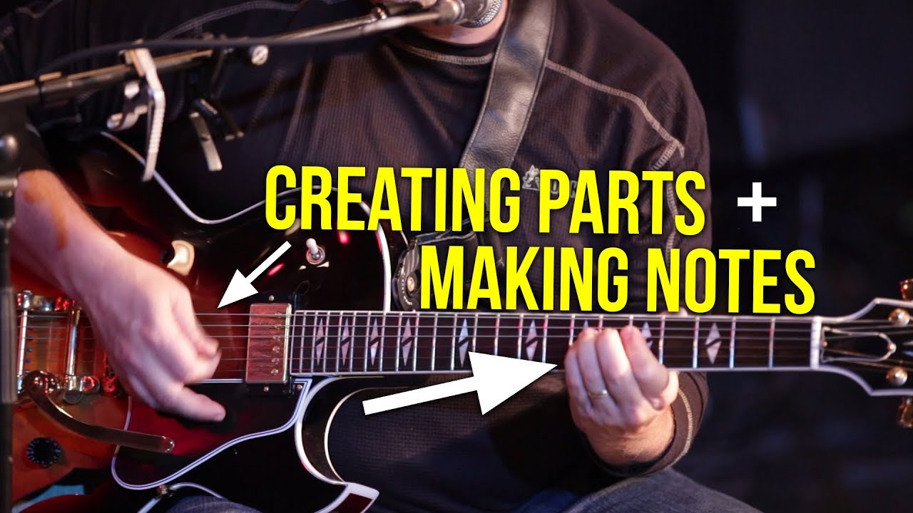 Creating Parts & Making Notes | Electric Guitar Workshop