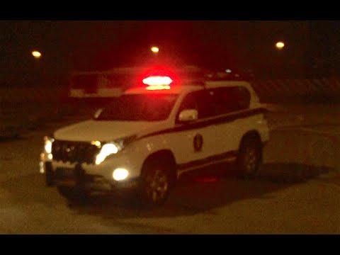 Doha Qatar Airport Police Car Youtube