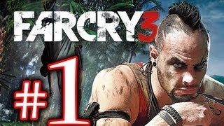 Cry Far - Far Cry 3 Walkthrough Playthrough Part 1 HD - 94 minutes Long Gameplay!