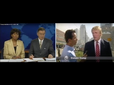 Image result for trump interviewed on 911 channel 9