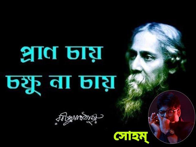 || Pran chay chokkhu na chay || Rabindrasangeet by Soham ||