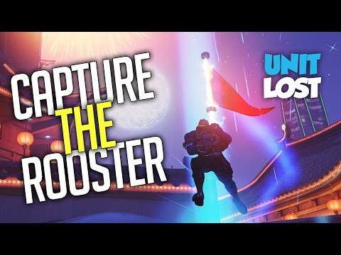 Overwatch - Capture The Flag Gameplay! (Capture The Rooster) Loads of FUN!