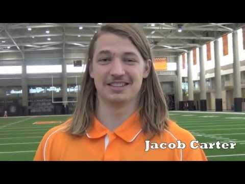 Vols Jersey Countdown No. 87 featuring Jacob Carter