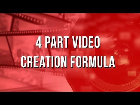 Video Marketing Strategy: 4 Part Video Creation Formula