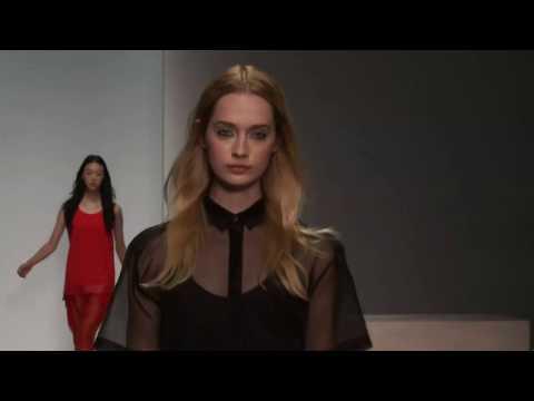 """ZOE JORDAN"" Fashion Show Spring Summer 2014 London HD by Fashion Channel"